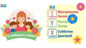 Конкурс На Лучшее Стихотворение: «С Любовью К Маме» - Итоги