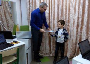 В Развивающем Центре Детвора Прошло Награждение За Успешное Создание Проекта Роббо Клуба