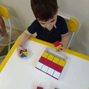 занятия для детей 3 лет кубики
